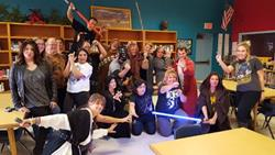 Click to view album:  Star Wars Day 2015!